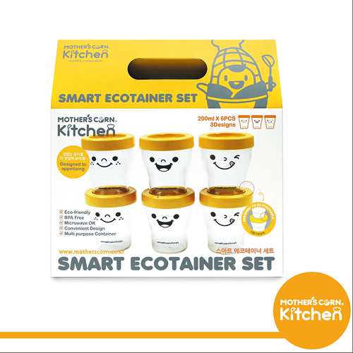 MOTHER S CORN 寶寶專用安全玉米餐具/多功能副食品儲存套組
