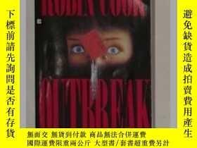 二手書博民逛書店《罕見Outbreak 》[Paperback] Robin C
