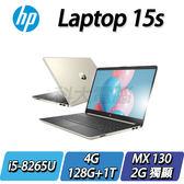 【HP 惠普】HP Laptop 15s-du0006TX TW 星沙金◢15.6吋窄邊框高CP值筆電 ◣