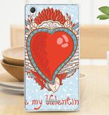 ♥ 俏魔女美人館 ♥ SONY Xperia T3 / D5103 {軟殼*羽翼之心} 手機殼 手機套 保護殼 保護套