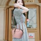 女新款潮氣質女神時尚百搭皮包手提斜背貝殼包手拎小包包