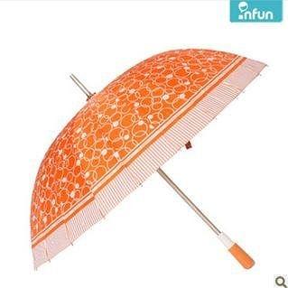24骨手開傘 複古鋁合金長柄雨傘 雨傘創意 防紫外線