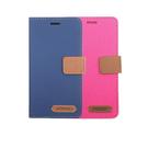XMART 小米 POCO F3 斜紋休閒皮套 可立 插卡 磁扣