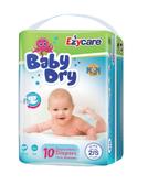 【Ezycare】嬰孩尿褲 10片/包 S--6包 (美國平行輸入~特價中!!!)