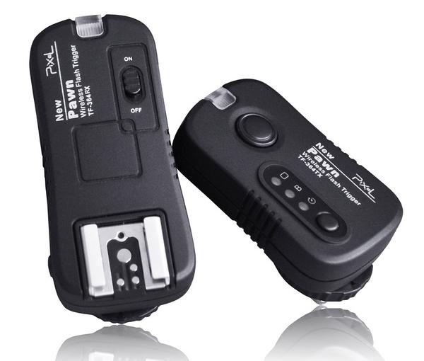 【發射器+接收器】Pixel 品色 Pawn TF-364 無線電双用閃光燈/快門遙控器 For OLYMPUS / PANASONIC 開年公司貨