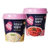 粉紅火箭義式白醬炒年糕杯/辣炒年糕杯(120g) 款式可選【小三美日】