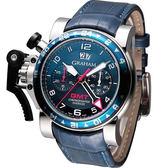 GRAHAM 格林漢 計時機械腕錶 20VGS.U06A.C117S