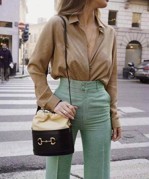 ■專櫃77折■Gucci 全新真品 1955 Horsebit 小牛皮水桶包 黑色