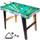 小桌球桌 宏登兒童家用台球桌美式黑8標準桌球台室內男孩玩具大號台球桌 igo 城市玩家