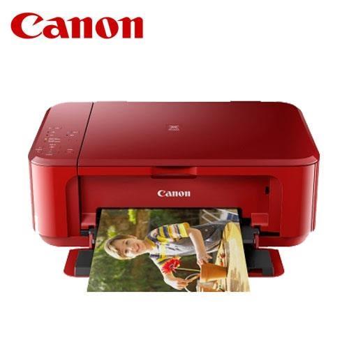 CANON MG3670 無線多功能相片複合機(睛豔紅)【狂省700元】