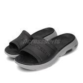 Skechers 拖鞋 Go Walk 5-Surfs Out 黑 灰 男鞋 涼拖鞋 【PUMP306】 243005BKGY