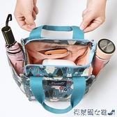 便當袋 保溫袋 上班族外出帶飯裝飯盒包保溫便當包時尚手提袋子帆布手拎媽咪包包 快速出貨