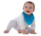 紐西蘭 Mum 2 Mum 機能型神奇三角口水巾咬咬兜-藍 吃飯衣 口水衣 防水衣