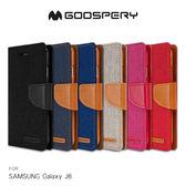摩比小兔~【GOOSPERY】SAMSUNG Galaxy J6 CANVAS 網布皮套 手機殼 保護殼 皮套