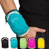 跑步手機袋手腕手臂包iphone6pplus蘋果6s運動臂套帶健身男女裝備       伊芙莎