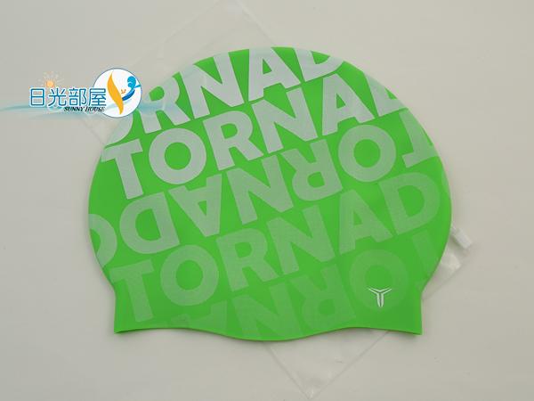 *日光部屋* TORNADO (公司貨)/TC-1702-GRN 舒適矽膠泳帽(韓國知名品牌)