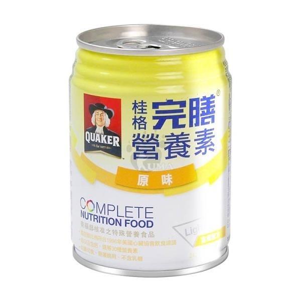 【南紡購物中心】桂格完膳營養素 含纖配方 原味少甜 250ml*24入/箱