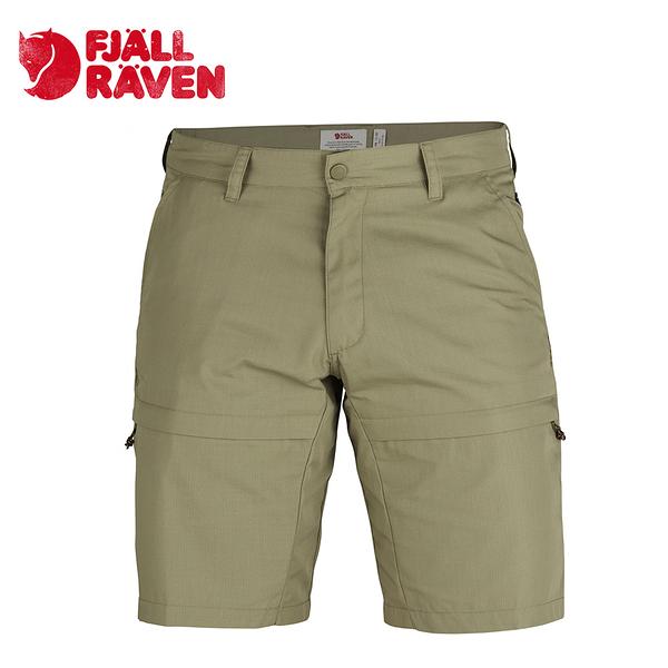 瑞典 Fjallraven 小狐狸 Travellers Shorts G-1000 防潑水休閒耐磨短褲 男款 草原棕 #81542