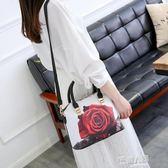 韓版潮百搭個性斜背包時尚單肩手提包夏天小包包女包  9號潮人館
