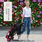 安格兒嬰兒推車可坐可躺寶寶傘車輕便攜可折疊新生兒嬰兒車手推車