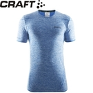 【CRAFT 瑞典 男 短袖排汗衣 藍】1903792/短袖排汗衣/排汗衣/運動上衣