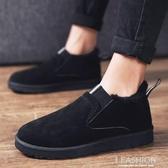 豆豆鞋男懶人鞋2019新款男士雪地棉靴冬季鞋子男棉鞋加絨保暖潮鞋-ifashion