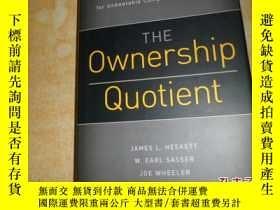 二手書博民逛書店THE罕見Ownership QuotientY17030 Ja