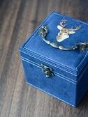 降價兩天 首飾盒復古公主女大容量飾品盒中式家用耳環耳釘珠寶便攜小收納盒