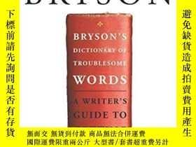 二手書博民逛書店Bryson s罕見Dictionary Of Troublesome Words-布賴森麻煩詞詞典Y4366