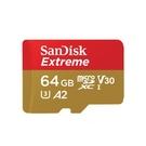【EC數位】SanDisk Extreme microSDXC UHS-I V30 A2 64GB 記憶卡 公司貨
