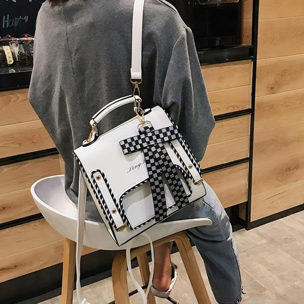 迷你後背包後背包女2020時尚韓版ins百搭蝴蝶結小清新潮流多用迷你背包新品
