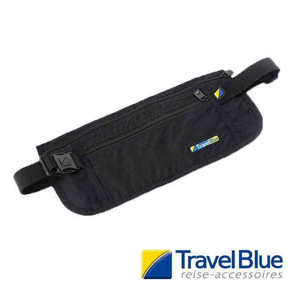 英國Travel Blue藍旅 UltraSlimMoneySafe貼身腰包 黑色 TB113A戶外|休閒|旅遊|露營|登山|出國