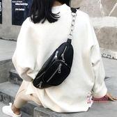 女胸包 超火ins小包包女夏天2018新款時尚日韓斜背復古chic學生腰包胸包