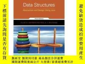 二手書博民逛書店Data罕見Structures: Abstraction And Design Using JavaY464