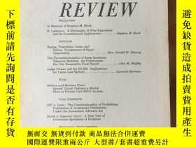 二手書博民逛書店Minnesota罕見LAW REVIEW Vol.69 No.4Y4615 University of Mi