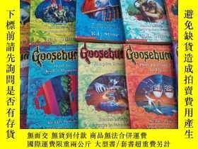 二手書博民逛書店Goosebumps:GHOST罕見CAMP VAMPIRE BREATH等10本合售Y246207