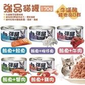 *WANG*【48入組】強品-美味鮪魚貓罐 五種口味可選 170g/罐 貓罐頭
