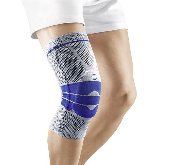 BAUERFEIND 德國保爾範護膝止滑型新膝寧灰藍色 GenuTrain *維康