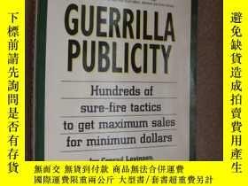 二手書博民逛書店Guerrilla罕見Publicity【遊擊營銷:小企業創造高
