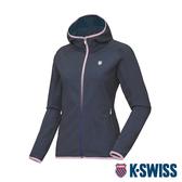 K-SWISS HS Woven Jacket韓版運動外套-女-深藍