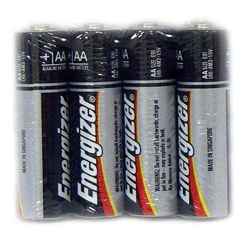 Energizer勁量3號電池AA電池鹼性電池(收縮4入)