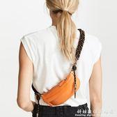 胸包小眾設計包包女 Artillery繩結編織肩帶斜跨包小 科炫數位