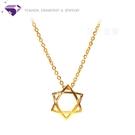 【元大珠寶】『立體六芒星』黃金項鍊、純金...