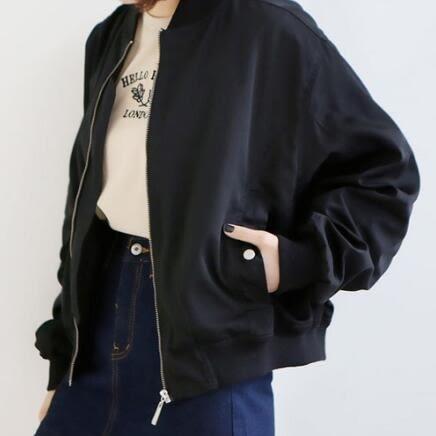 飛行夾克 韓版  棒球外套 紐約周