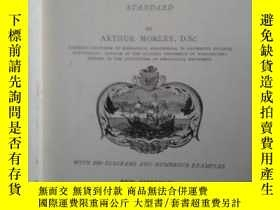 二手書博民逛書店MECHANICS罕見FOR ENGINEERS:A TEXT-BOOK OF INTERMEDIATE STAN