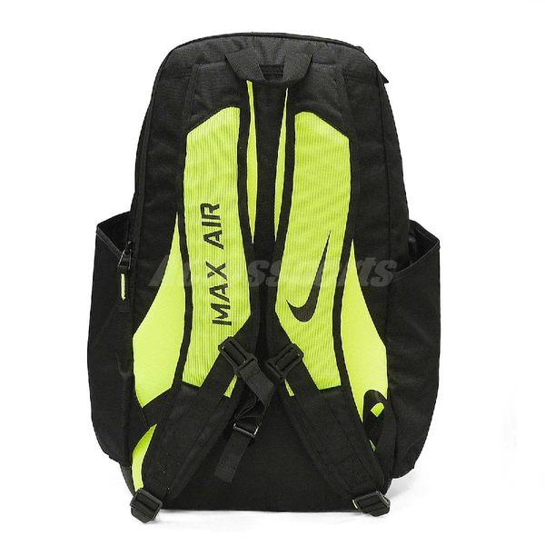 75c9d815a5 ... Nike 後背包Power Energy Vapor 黑螢光黃 綠運動戶外訓練包 ...