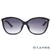 Dior 太陽眼鏡 Metal eyesF 60AHD (黑-藍) 優雅曲線 亞洲版 墨鏡 久必大眼鏡