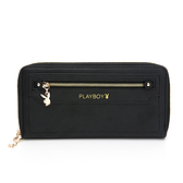 PLAYBOY- ㄇ拉長夾 Original系列 -黑色