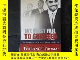 二手書博民逛書店WE罕見MUST FAIL TO SUCCEEDY271632