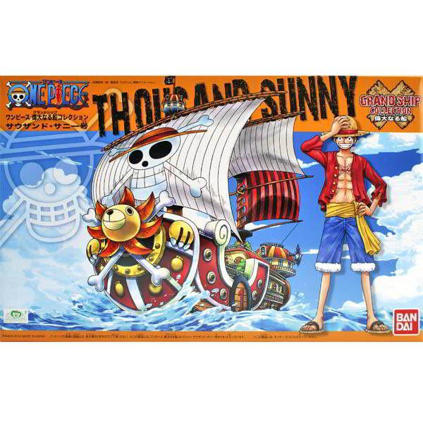 航海王 海賊王 BANDAI組裝模型 偉大之船 千陽號 Thousand Sunny 01